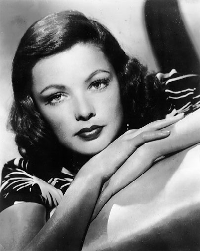 Turner Classic Movies Are Featuring Gene Tierney Films All Day Tomorrow August 14 2010 Don T Miss It Michelle Vogel Author Michellevogelhollywoodnews Com