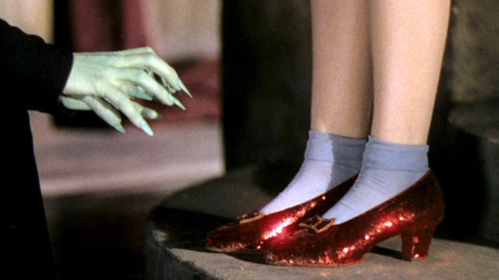 Dorothy Ruby Red Shoes Off The Witch
